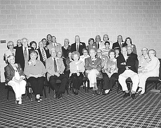 <p>Special to The Vindicator</p> <p>HONOREES: Couples who have been married between 50 and 71 years and are members of Temple El Emeth walked down the aisle, through a marriage kuppah, and were seated on the pulpit during an anniversary ceremony, which was conducted by Rabbi Joseph P. Schonberger in their honor on May 29.</p>