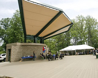 The Dedication of the Nature & Art Stage at the beach at Lake Milton State Park- robertkyosay