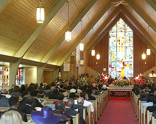 Funeral services for Edna Pincham were held Wednesday at Third Baptist Church in Youngstown.