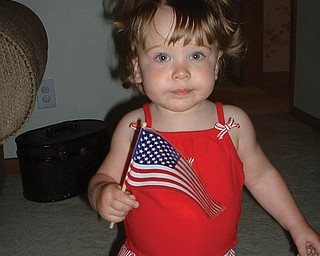 This picture of Veronica Cionni was taken July 4, 2006, when she was 15 months old. She is the daughter of Brian and Krissie Cionni of Boardman.