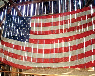 Jodi Yasechko says this is Old Glory at Our Old Barn in New Middletown.