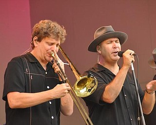 Alex Henderson and Scotty Morris of Big Bad Voodoo Daddy