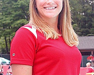 Margaret Matavich, assistant coach of the Canfield swim team