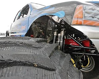 MONSTER TRUCK: The third annual Truck and Jeep Fest takes place at the Canfield Fairgrounds. Many trucks, such as Big Foot, above, will take part in the event Saturday and Sunday.
