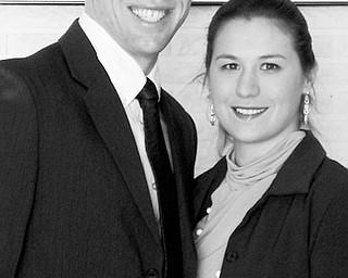 Phillip Schaper and Michele Dolenic