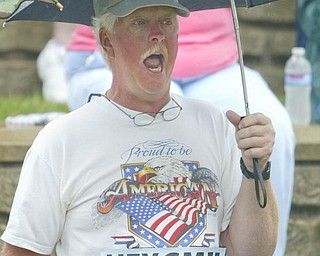 Bob Aughenbaugh of Liberty  worked for 30 years  - and voiced his opinion loud and clear - robertkyosay