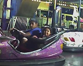 There is nothing like the bumping cars at the Canfield Fair, according to Ramon Aponte and his  sister, Alicia Cortez.