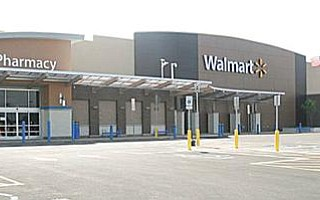 The new WalMart in Liberty on Belmont Avenue in the Liberty Plaza is due to open mid-August, according to Thomas Urena, store manager.