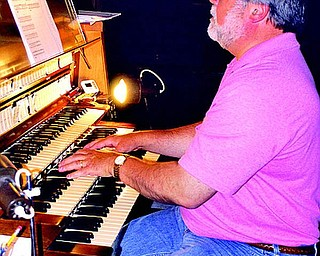 Organist Richard Konzen of Mercer County, has been with St. John's for over 7 years