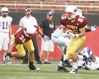 In this file photo, #25 Ray Vinopal is seen playing for Cardinal Mooney.
