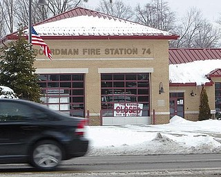 STATION 74 CLOSED - the Boardman Fire Station on South Ave. has been closed due to the layoffs - robertkyosay