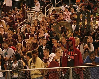 Student section calling for D-Fense