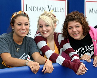 Sarah Swoboda, Emily Lewis, and Katie Baytos travelled the many miles to Tuslaw for the South Range opening WIN!!