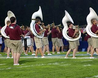 When the South Range Band dances...so do the tubas!