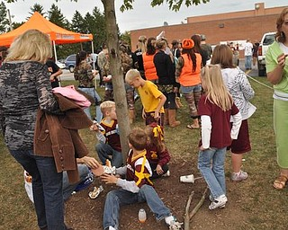 Springfield at South Range Blitz Tailgate Party, Friday, September 26, 2009.