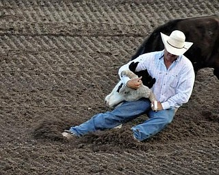 Steamboat Springs Rodeo in Steamboat Springs, Colo. Taken by Dan Shields of Canfield.