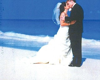 Sommer Fasulo, granddaughter of Doris Chianello of Campbell, and Spencer Conway were maried in July in Bermuda.