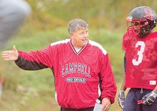 Campbell coach Jeff Bayuk