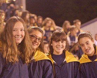 Lowellville marching band members Kayla Theisler, Antonina Boggia, Annie Piccirillo and Andi Hrusovsky.