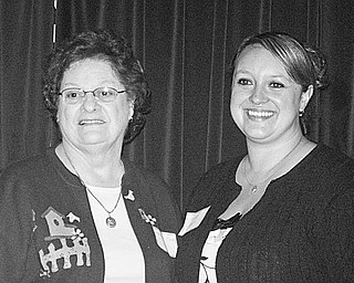 Special to The Vindicator CLASS ACT: The third annual dinner hosted by members of the Hannah E. Mullins School of Practical Nursing Alumni Association took place Sept. 26 at the Elks Club in Salem. The night included a silent auction and a 50-50 drawing. Sharing a moment at the event were, at left, Virginia Toot, a member of the school's first graduating class, and Tammy Eckert, a member of the 2009 graduating class. For more information about the association, contact Ann Dattilio at (330) 222-1315, Loretta Ripple at (330) 718-6323, or hemspnalumni@comcast.net.