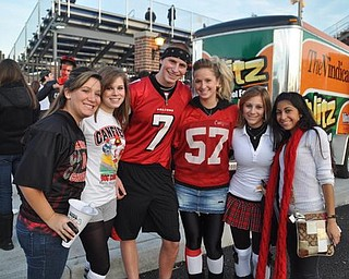 Canfield at Poland Blitz Tailgate Party, Friday, Oct. 30, 2009.