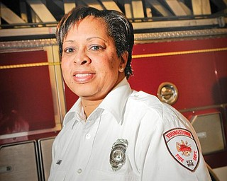 Youngstown Fire Department Chief Fire Inspector Marcia Harris.