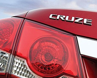 SHOWTIME COMING: The official unveiling of General Motors Corp.'s Chevrolet Cruze is Wednesday. The automotive press will be in Los Angeles to get a close-up look at the Lordstown-built, fuel-efficient small car that replaces the popular Chevrolet Cobalt.