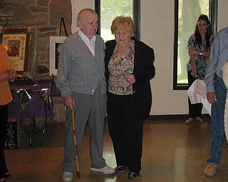 There was a celebration at the Yellow Creek Lodge in Struthers for John Loboy, who was 90 years young, and Mary Loboy, who was 91 years young. Four generations of family and friends gathered to honor them. John also received a Papal Blessing from Pope Benedict for his 90th Birthday. John and Gloria, his wife of 61 years,  reside in Coitsville Township. Mary Loboy resides in Campbell.
