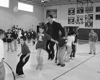 GETTING A JUMP START Special to The Vindicator HEART PROGRAM: Students and faculty at St. Patrick School in Hubbard got a jump start on good health recently when they participated in the Jump Rope for Heart Program sponsored by the American Heart Association. Those taking part in the activity collected donations of $110 to be used by the AHA for programs that will benefit those in need. The school participates in the heart-warming program each year.