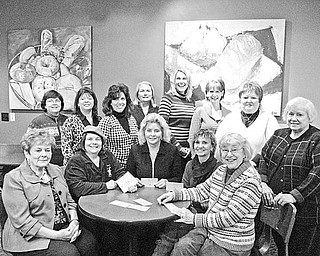 """Special to The Vindicator  CELEBRATION: Plans are under way for the 24th annual Trumbull County Women's History Dinner Celebration scheduled for March 23 at Ciminero's Banquet Center in Niles. The theme for the event is """"Writing Women Back Into History."""" Guest speaker Carol Starre-Kmiecik will portray America's most famous female aviator, Amelia Earhart. Chairmann Julie Vugrinovich and her committee will be honoring and recognizing local women's clubs and organizations, as well as showcasing women authors, artists, educators, professionals and groups that have contributed to the community. The cost is $20, and the social hour will begin at 5:30 p.m. with dinner at 6. Contact E. Carol Maxwell at (330) 360-0901 or e-mail her at maxec226@gmail.com for tickets and information. Above are the dinner committee members. Seated, from left to right, are Theresa E. Salcone; E. Carol Maxwell, ticket chairman; Julie Vugrinovich, event chairman; Mary Ognibene, raffle baskets co-chairman; and Martha Ellers, treasurer and historian. In the back row from left to right, are Diane Starr, 50-50 raffle chairman; Renee Maiorca, scholarship chairman; Stephanie Furano, publicity chairman, Cynde Kennedy; Jennifer Wyndham, committee adviser; Brenda Duffett; Sherrry Stiffler, raffle baskets co-chairman; and Judie Harley. Committee members not pictured are Ann Penman, secretary; Roz Jackson, guest speaker chairman, Esther Gartland, ticket co-chairman, and Bonnie Hood."""