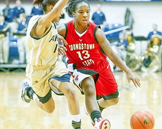 ASSISTS LEADER: YSU sophomore guard Macey Nortey leads the Horizon League in assists with 5.3 per game. She has already matched her season total from last year.