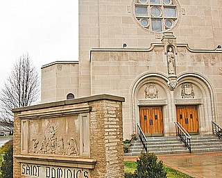 Saint Dominic's Church, 77 Lucius Ave., in Youngstown.
