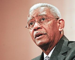 Rev Dr. Otis Moss Jr. at the Rev. Dr. Martin Luther King Jr Diversity Breakfast at YSU.