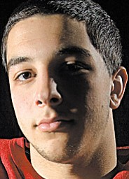 Don D'Alesio, Mooney Football Player, 2009