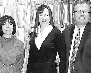Special to The Vindicator READY FOR MARDI GRAS: The 9th annual Hospice of the Valley Mardi Gras Party will take place Saturday at Mr. Anthony's in Boardman. Among those looking forward to the event are, from left, Gregg Strollo, Denise DeBartolo York and Rochelle Strollo, honorary chairs; Garry Mrozek of PNC, which is the Mardi Gras 2010 sponsor; and Liz McGarry, director of development at Hospice of the Valley.