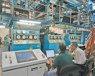 Control systems monitor all steps of the printing process.