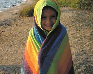 This picture of Emily Caguiat, 6, of Boardman was taken at Charlevoix, Mich., in August 2008 by Tani Spielberg of Boardman..