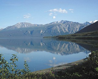 Kluane Lake, Yukon, Canada, by Ellen W. Conrad of Salem..