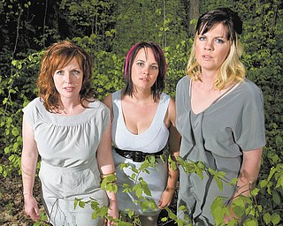 Searson is, from left, Erin, Heather and Colleen Searson.