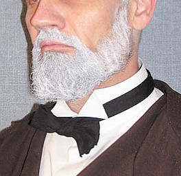 Frank Dunkle, program officer for the Ohio Humanities Council, will portray abolitionist John Brown on Tuesday evening at Columbiana Public Library.