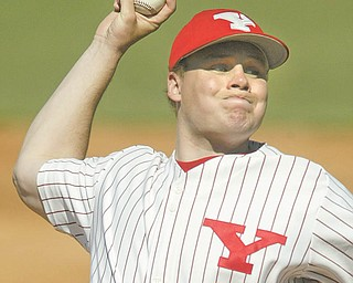 Youngstown State's Aaron Swenson was named Horizon League pitcher of the week.
