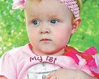 Presley Pittman, turning 1 year old, of Salem..