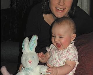 Jenna Hudock of Boardman and her daughter, Nina..
