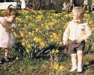 This Easter photo of Paula and Wayne Gotshall was taken in 1957 in Mill Creek Park. It was sent by Paul and Marge Gotshall of Youngstown..