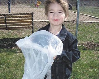 Thomas Hull was hunting for Easter eggs in this 2009 picture when he was years old. His parents are Larisa and Thomas Hull of Ann Arbor, Mich. His grandparents are Irene Piwtorak of Youngstown, Carol Hull of Youngstown and Thomas Hull of Youngstown., and his great-grandmother is Anastasia Senczyszak of Youngstown..