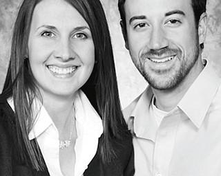 Lisa Pearson and Eric Pellegrini