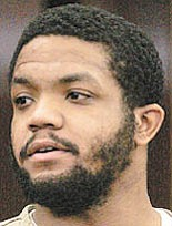 FILE - In this Sept. 18, 2006, file photo, former Ohio State football star Maurice Clarett pleads guilty in Columbus, Ohio, to aggravated robbery and carrying a concealed weapon. Clarett is now in county jail and awaiting a judge's decision that would release him to a community-based correction facility after spending 3 1/2 years in prison.
