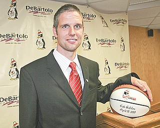 ROBERT K. YOSAY | THE VINDICATOR..Bob Boldon, a standout player at Louisville High and NAIA Walsh University in the mid-1990s, was hired to jump-start a Penguins program coming off the two worst seasons in school history.