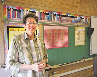 Kathleen Villella, diagnosed with multiple sclerosis in 2008, usually sits as she teaches at St. Joseph/Immaculate Heart of Mary School in Austintown. A team named for her, KV's Krew, will walk in the 2010 Mahoning Valley MS Walk beginning at 9 a.m. Saturday at the Canfield Fairgrounds.
