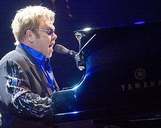 Elton John performs at Covelli Centre, Saturday May 1, 2010